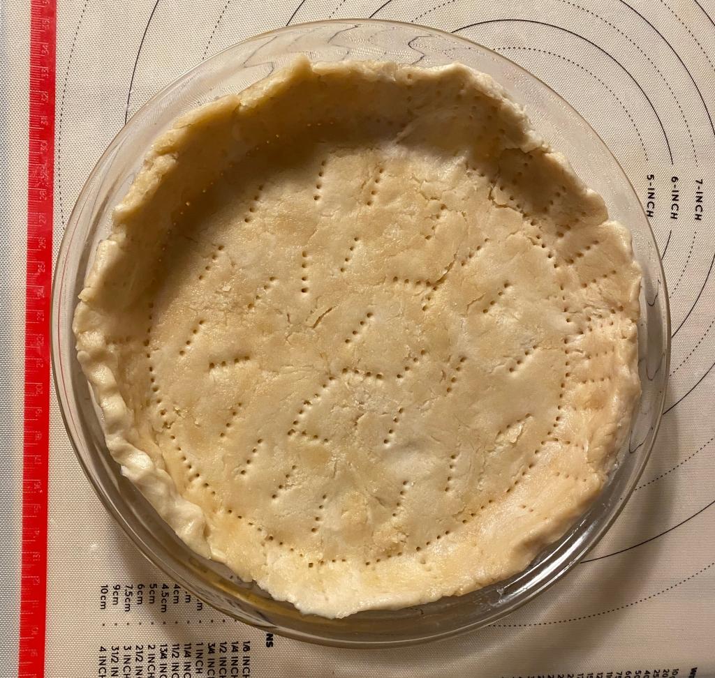 Basic pie crust base